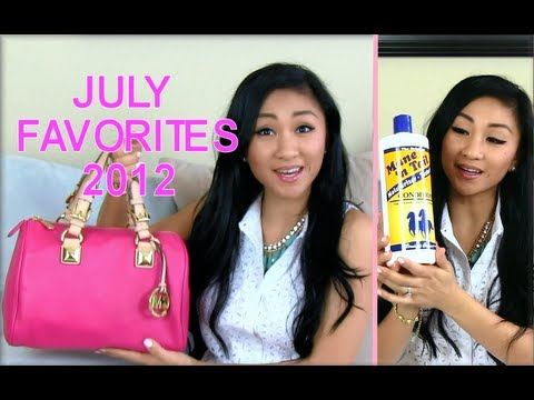 ✿ JULY FAVORITES 2012! ✿ Horse Conditioner?! Revitalash Advanced, Metallic Nails, Bubbi Buffer