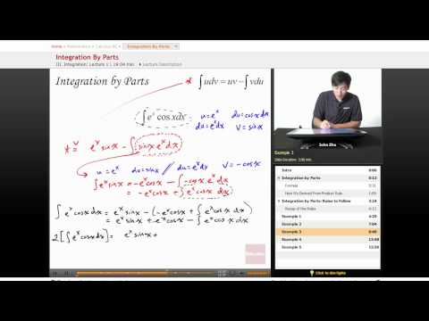 Calculus BC Lesson: Integration by Parts