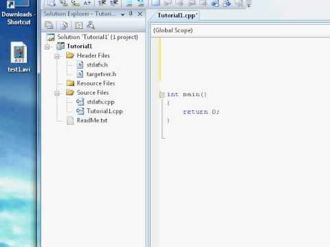 C++ Tutorial (wrap 7 @ video 40) - Absolute n00b spoonfeed