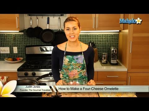 How to Make a Four-Cheese Omelette