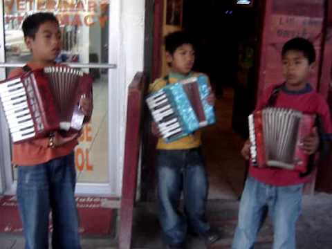 Boys singing in Mexico