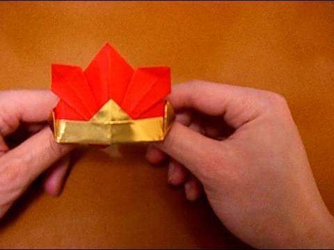 origami kabuto samurai helmet