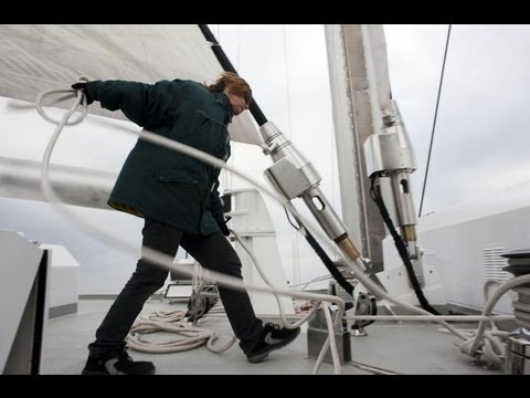 Stories from the Rainbow Warrior: Sailing in Biscay