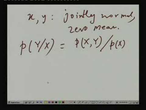 Lecture - 20 Joint Conditional Densities (Contd.)