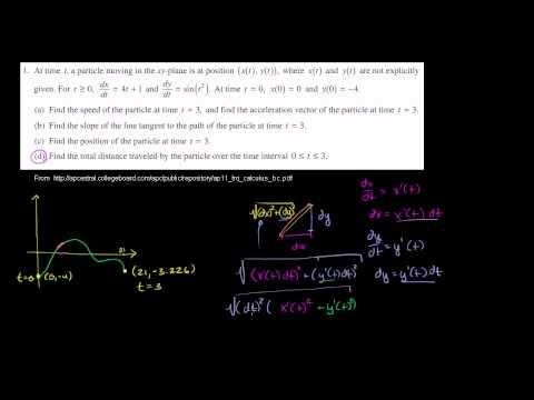 2011 Calculus BC Free Response #1d