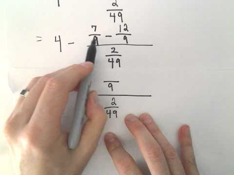 The Order of Operations With Fractions and Decimals, Ex 2