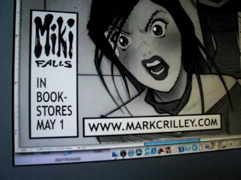 Comic Book Computer Toning Demo (Miki Falls)