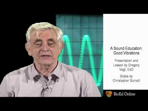 A Sound Education:  Good Vibrations