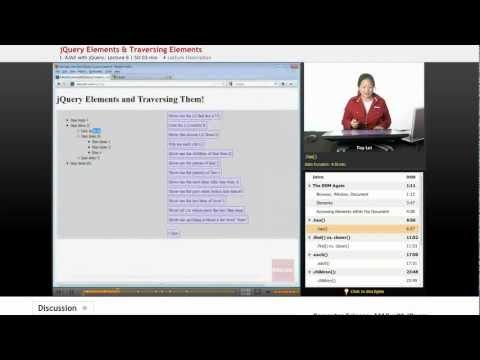 Ajax and jQuery: jQuery Elements & Traversing Elements