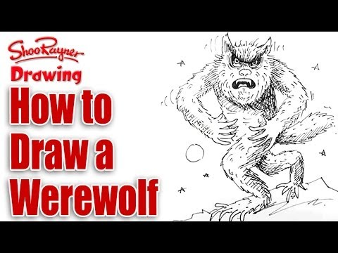 How to draw a Werewolf