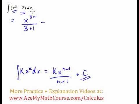 Antiderivative Question #3 (Indefinite Integral)