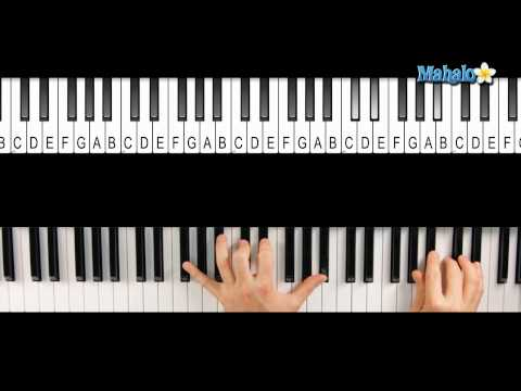 How to Play a B-flat Minor 7 (Bbm7) Chord on Piano