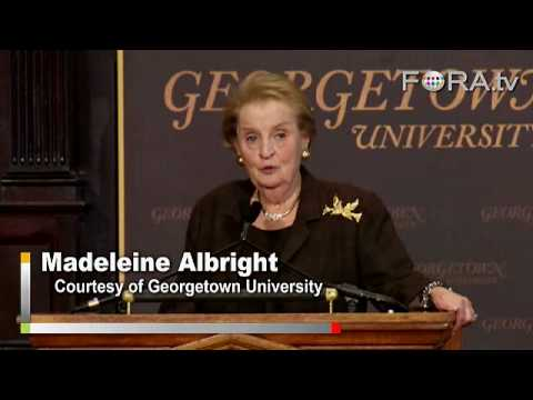Albright: Obama Honeymoon May Be Short