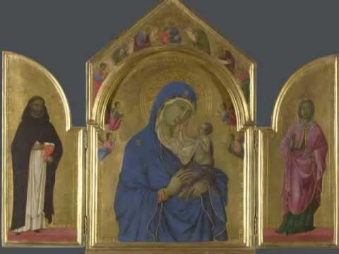 Duccio, The Virgin and Child, c. 1315