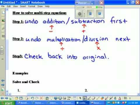 Lesson 4 Algebra 1