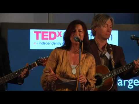 TEDxStockholm - Christin Sargent - Wild Carrot Flower