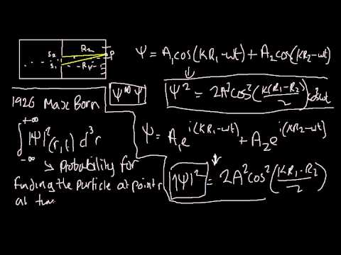 Quantum Mechanics 014: The Born Interpretation