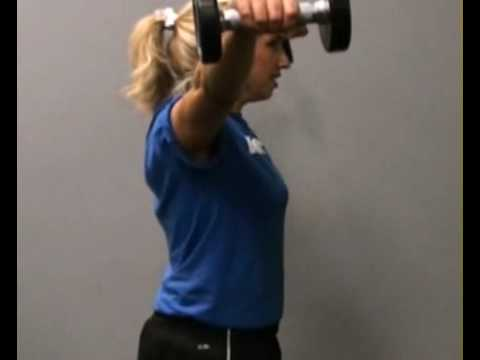 Lateral Dumbbell Raise, Side : BeYourTrainer.com