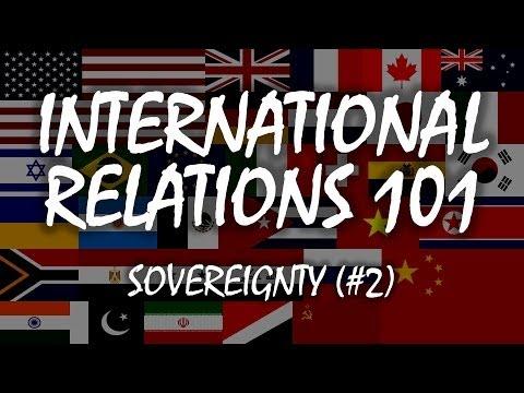 International Relations 101: Sovereignty (1.2)