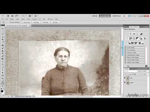 How to restore pictures in Photoshop: Overview | lynda.com