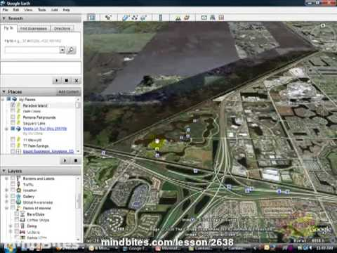 Google Earth tutorial by GeeksOnTour.com