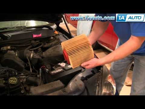 How To Install Replace Air Filter Ford Taurus Mercury Sable 98-07 1AAuto.com