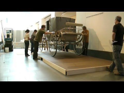 Maharaja's Silver Carriage Installation at the Asian