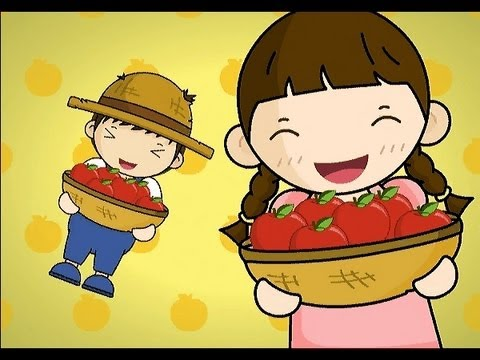 Muffin Songs - Picking Apples   | nursery rhymes & children songs with lyrics | muffin songs