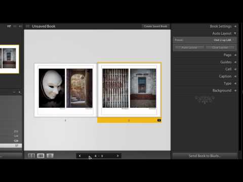Lightroom 4 Beta: Book Module Basics