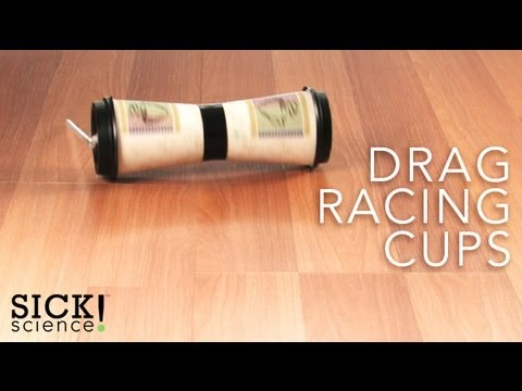 Drag Racing Cups - Sick Science! #091