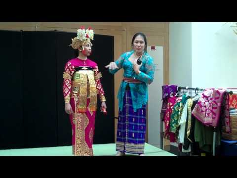 AsiaAlive: Balinese Costumes with Luh Estiti Andarawati and Maria Omo - Part II