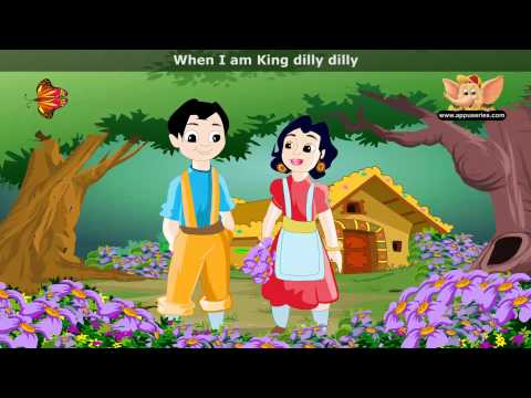 Lavender Blue - Nursery Rhyme with Lyrics (HD)