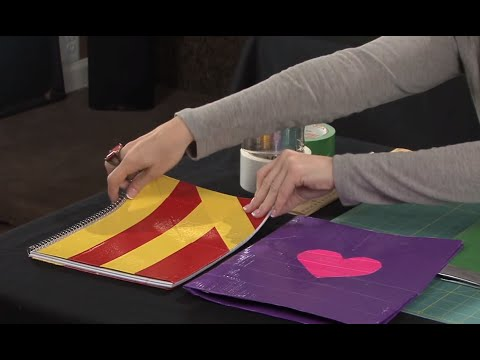 How to Make a Duct Tape School Folder