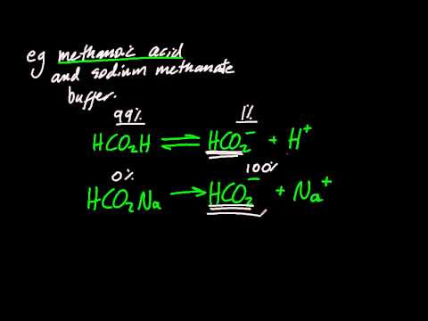 18.2.1 Describe the composition of a buffer solution and explain its action IB Chemistry HL