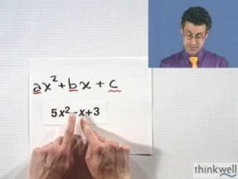 Factoring Trinomials: The Grouping Method, Part 1 of 2, from Thinkwell College Algebra