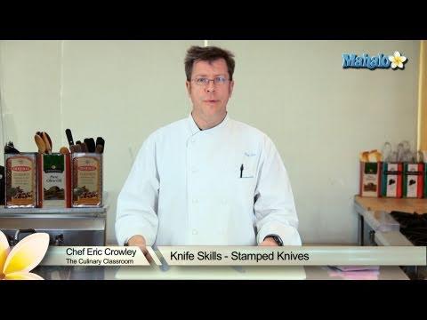 Knife Skills - Stamped Knives