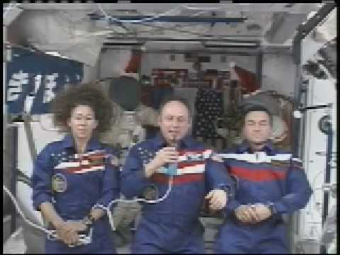 International Space Station Crew Reflections at Year's End
