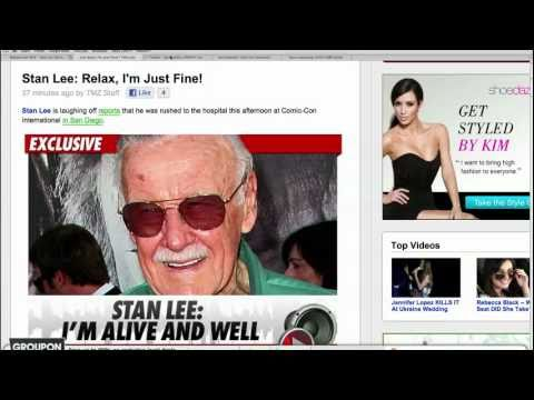 Stan Lee Denies Comic-Con Illness