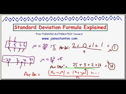 Standard Deviation Formula Explained! (TANTON Mathematics)