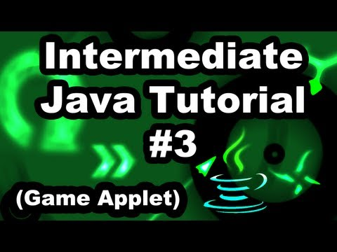Learn Java 2.3 - Game Applet- Intro to Animation