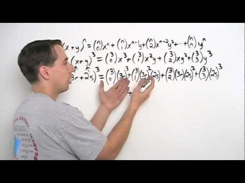 Art of Problem Solving: Using the Binomial Theorem Part 1