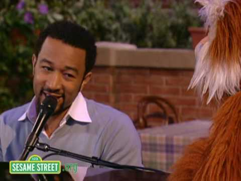 Sesame Street: John Legend and Hoots Sing