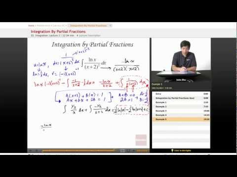 AP Calculus BC: Integration by Partial Fractions