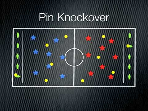 P.E. Games - Pin Knockover
