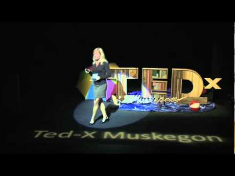 TEDxMuskegon - Jennifer Jurgens - Yes They Are Fake, My Real Ones Tried to Kill Me