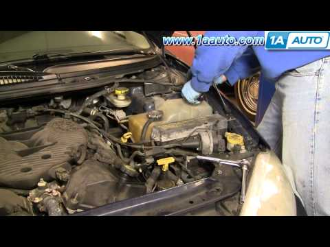 Auto Repair Replace Engine Coolant Radiator Overflow Bottle Dodge Intrepid 98-04 1AAuto.com
