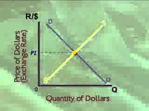 Exchange rate 03:  Determining the rand dollar exchange rate