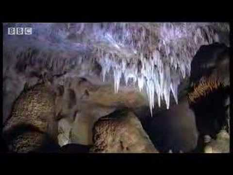 Great natural wonders - amazing caves in New Mexico and Yosemite National Park, USA - David Attenborough - BBC