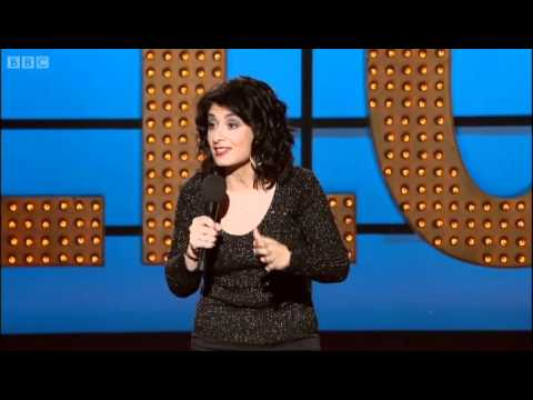 Shappi Khorsandi one liners - Live at the Apollo - BBC