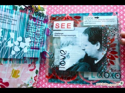 How To Make A Paperless Scrapbook Album